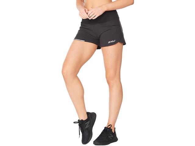 """2XU Aero 4"""" Shorts Women, czarny"""